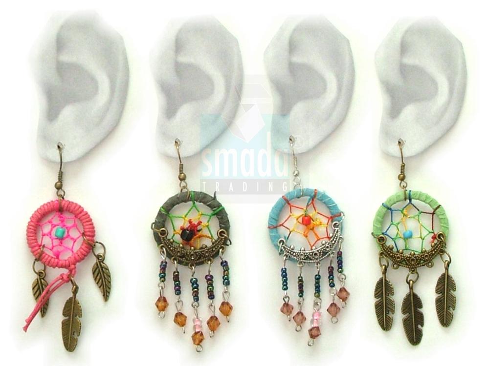 dreamcatcher oorbellen