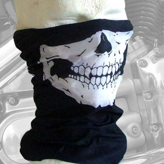 face mask bandana skull skelet masker